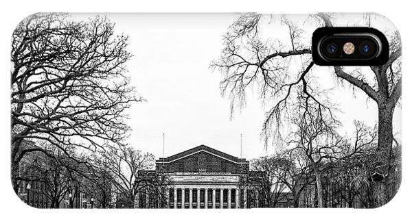 Northrop Auditorium At The University Of Minnesota IPhone Case