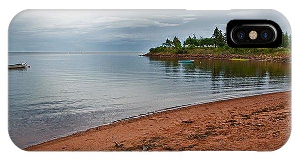 Northumberland Shore Nova Scotia Red Sand Beach IPhone Case