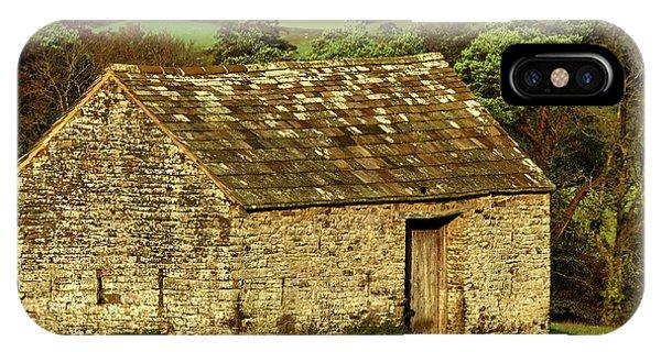 Northumberland Stone Barn IPhone Case