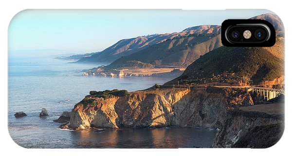 Northward View Of Coastline From Big IPhone Case