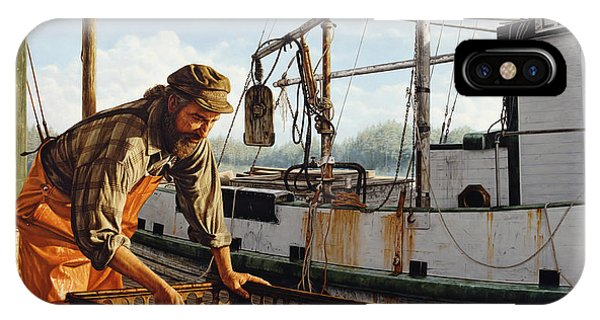 Northwest Fisherman IPhone Case