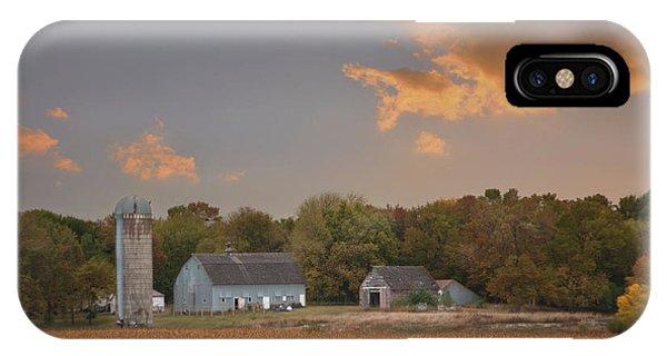 Northwest Iowa Farmscape IPhone Case