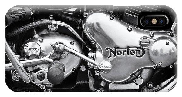 Norton Commando 850 Engine IPhone Case