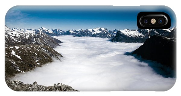 Norway In The Clouds IPhone Case