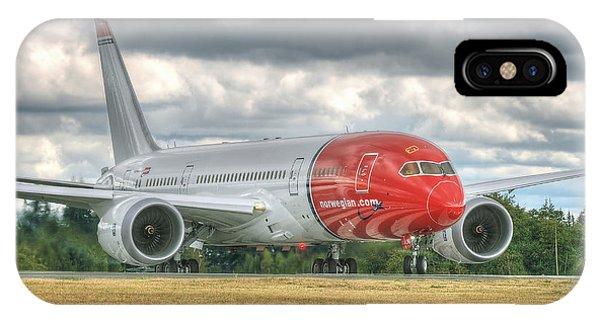 Norwegian 787 IPhone Case
