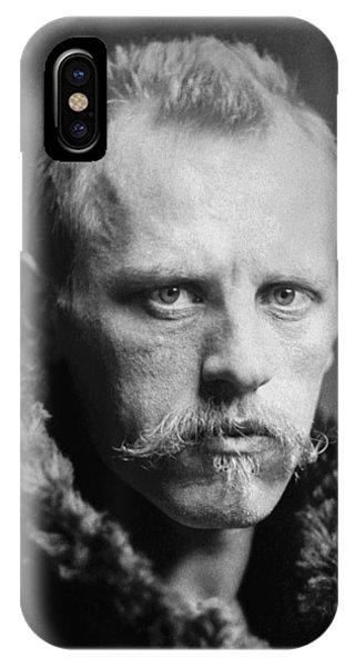 Nobel iPhone Case - Norwegian Fridtjof Nansen by Underwood Archives