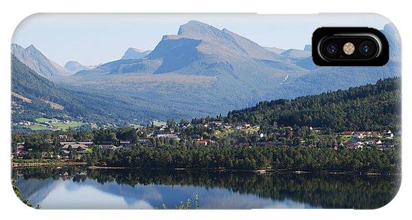 Norwegian Mountain Lake IPhone Case