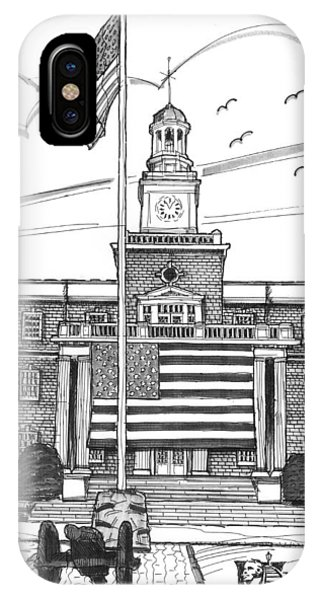 Norwich University Jackman Hall IPhone Case