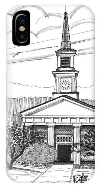 Norwich University White Chapel IPhone Case