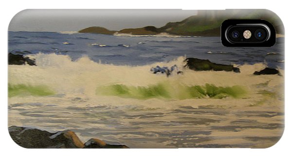 Norwick Beach Shetland Isles IPhone Case