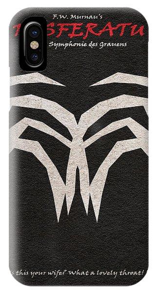 Simple iPhone Case - Nosferatu by Inspirowl Design