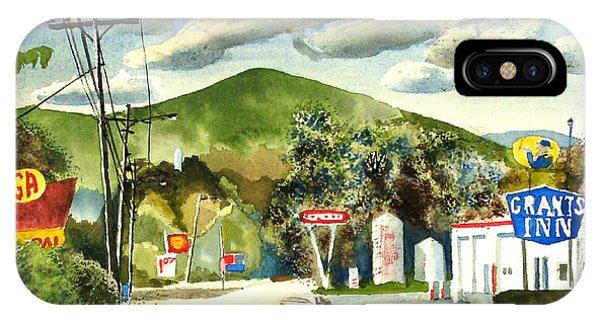 Nostalgia Arcadia Valley 1985  IPhone Case