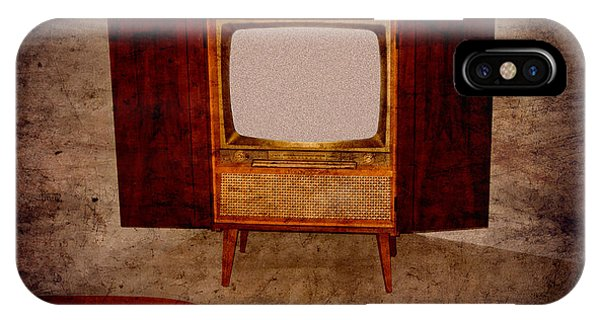 Nostalgia - Old Tv Set IPhone Case