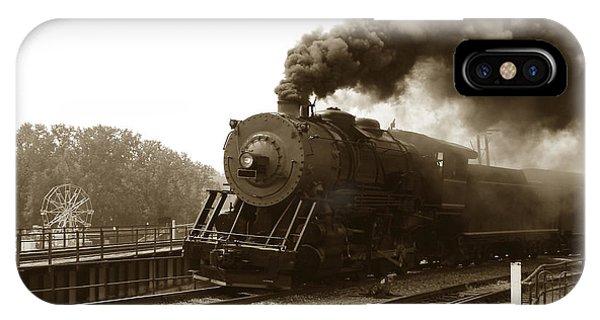 Passenger Train iPhone Case - Nostalgia by Olivier Le Queinec