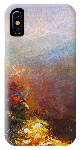 Nostalgic Autumn IPhone Case