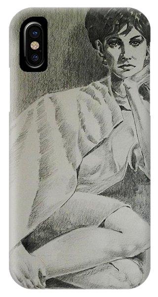 Nostalgic Beauty IPhone Case