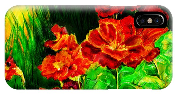 Nosturtiums IPhone Case