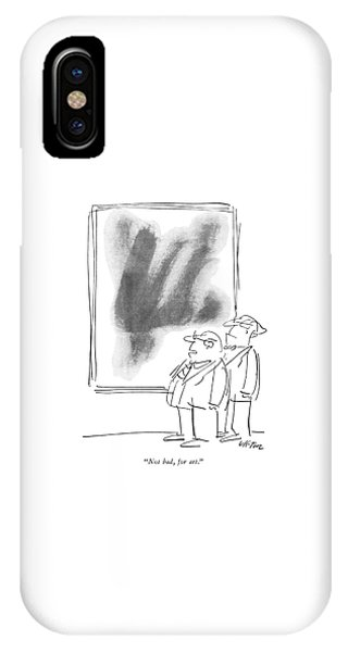 Not Bad, For Art IPhone Case