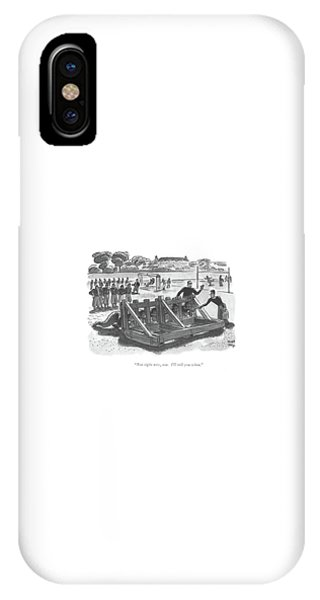Not Right Now IPhone Case