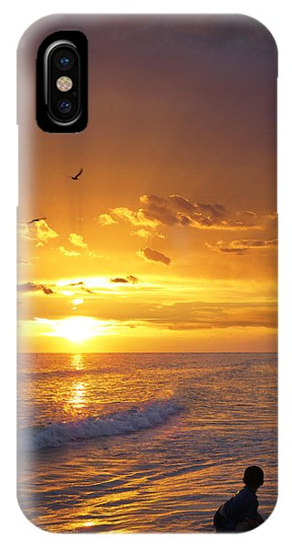 Not Yet - Sunset Art By Sharon Cummings IPhone Case