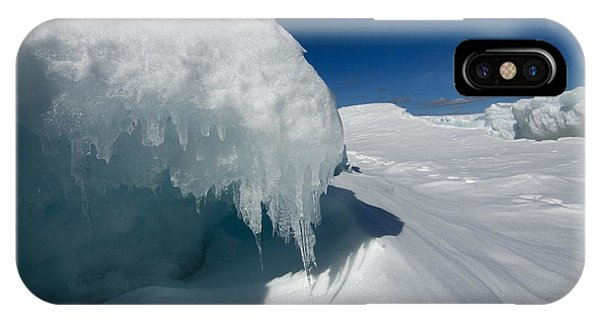 Nothing But Ice IPhone Case