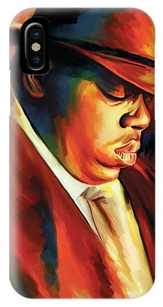 Notorious Big - Biggie Smalls Artwork IPhone Case