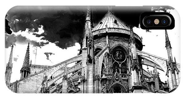 Notre Dam Revealed By Denise Dube IPhone Case