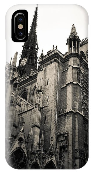 Notre Dame - For Eugene Atget IPhone Case