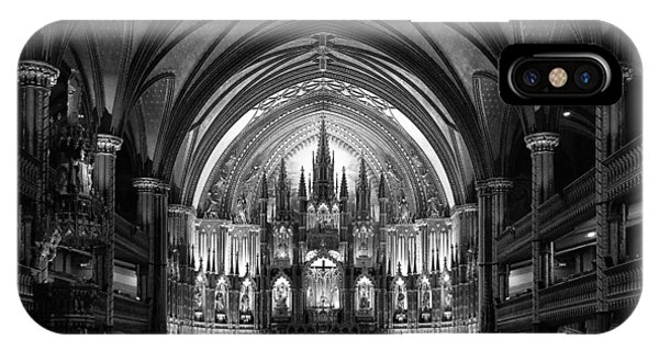 Christianity iPhone Case - Notre-dame Basilica Of Montreal by C.s. Tjandra