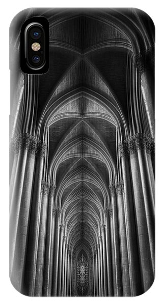 Ceiling iPhone Case - Notre-dame Catha?dral by Oussama Mazouz