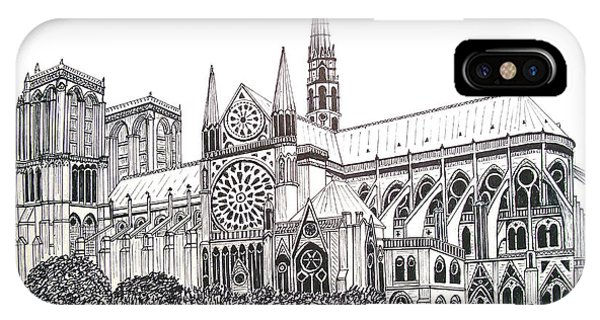 Notre Dame Cathedral - Paris IPhone Case