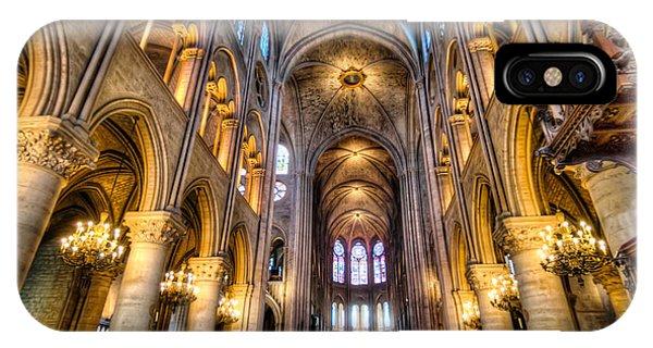 Notre Dame In Paris IPhone Case