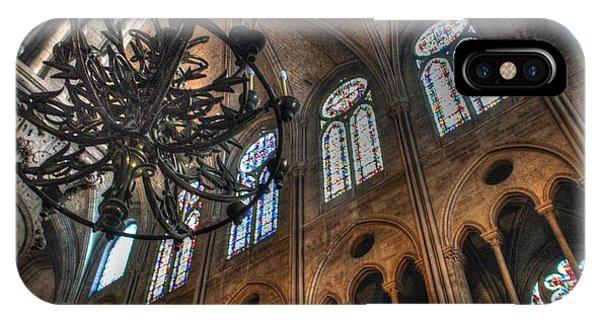 Notre Dame Interior IPhone Case