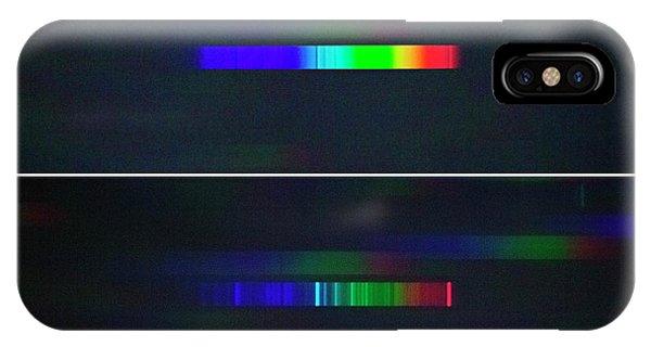 Nova Delphini Spectrum IPhone Case