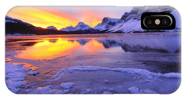 iPhone Case - November Freeze 2 by Dan Jurak