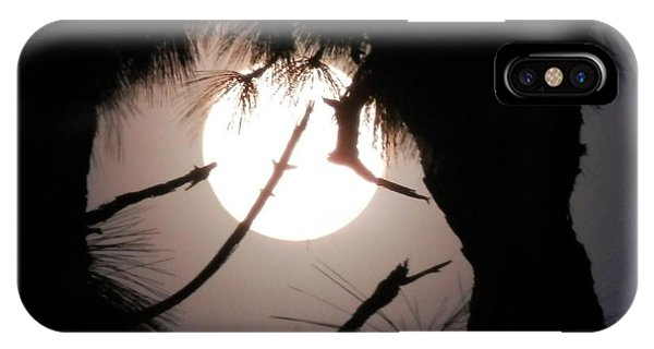 Florida November Full Moon IPhone Case