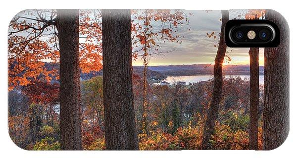 November Morning At The Lake IPhone Case