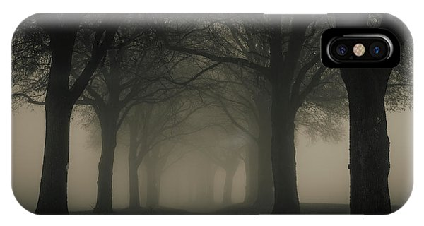 Fog iPhone Case - November by Petra M. Schmitz