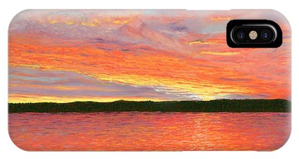 November Sunset IPhone Case