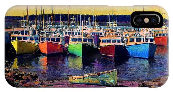 Novi Boats IPhone Case