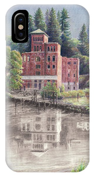 Now And Then - Old Olympia Brewery IPhone Case