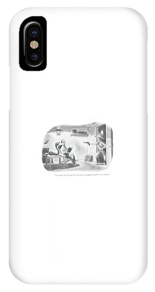 Now, Don't Stir, Old Man. I've Seen This IPhone Case