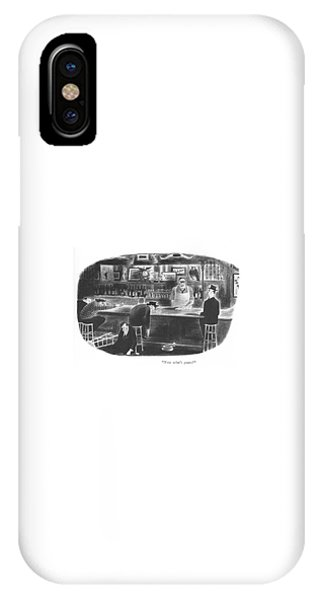 Pub iPhone Case - Now What's Yours? by Richard Taylor