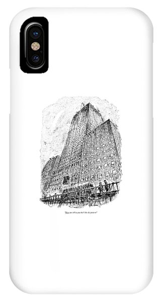 Now You Tell Us You Don't Like The Pattern! IPhone Case
