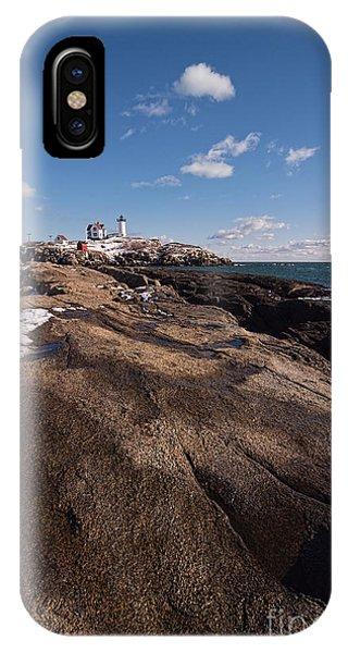 Nubble Light Portrait IPhone Case