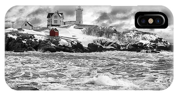 Nubble Lighthouse After The Storm IPhone Case