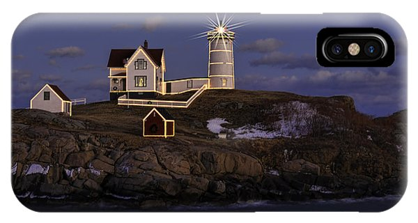 Nubble Lighthouse Ll IPhone Case