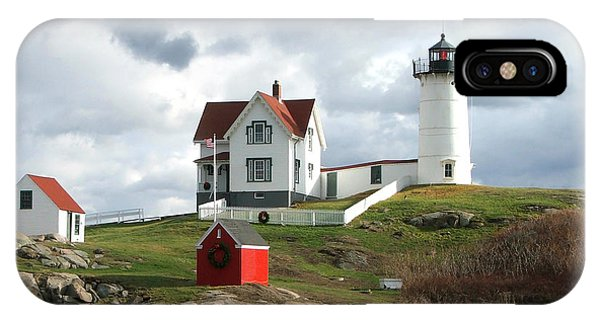 Nubble Lighthouse IPhone Case