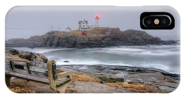 Nubble Lighthouse View IPhone Case