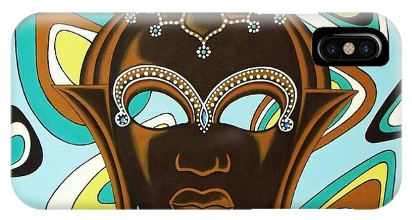 Nubian Modern  Mask IPhone Case